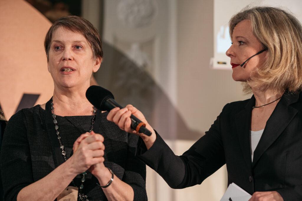 Diane Osgood presenting